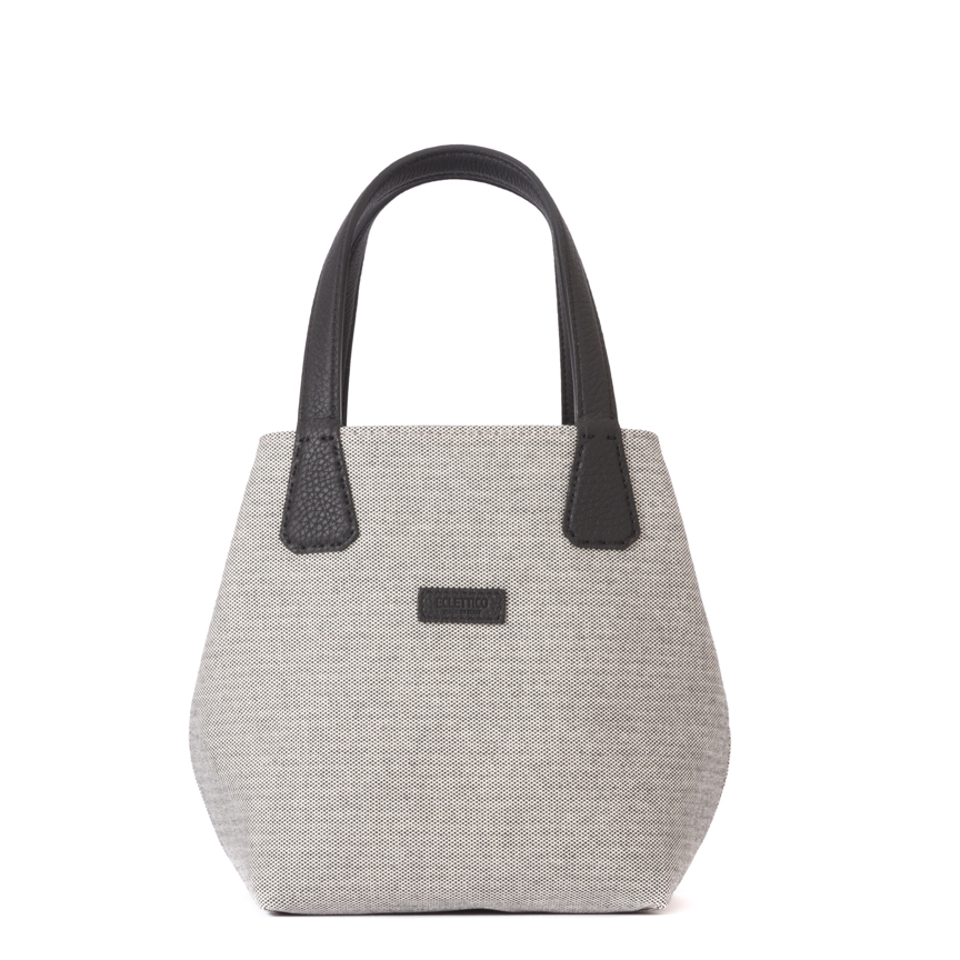 Versatile Medium Double Face Tote M Leather / Canvas