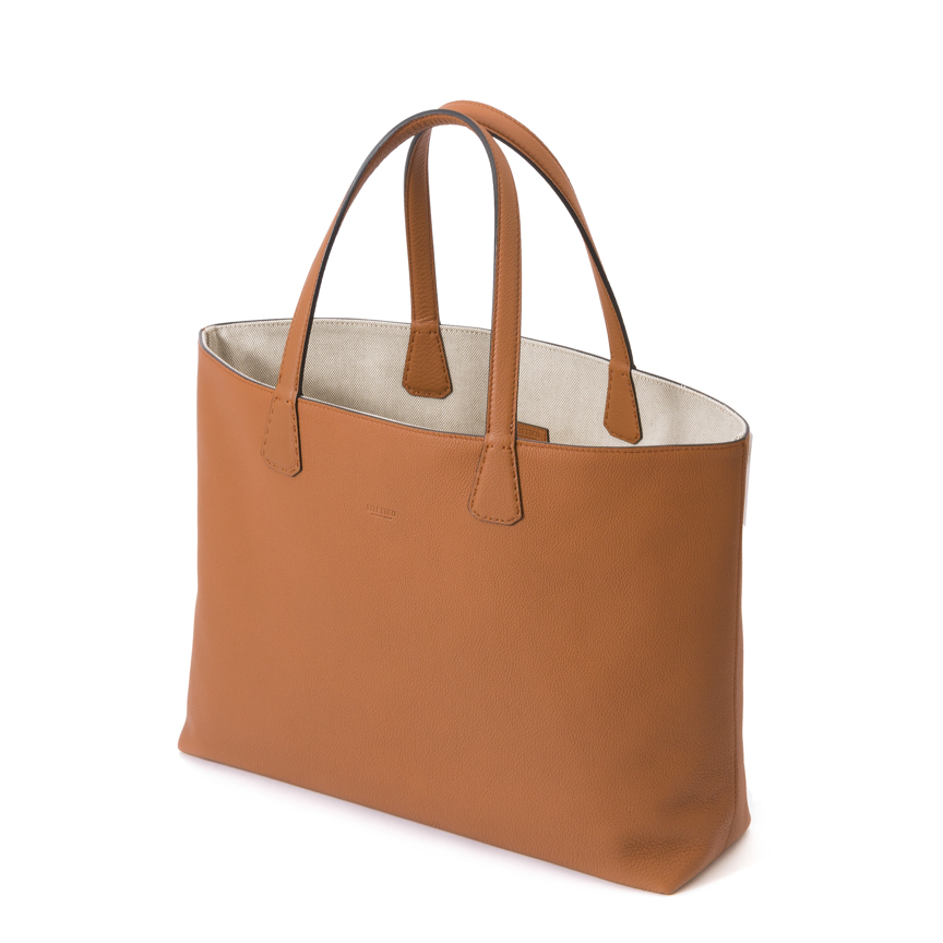 Versatile Orizonte Double Face Tote Ori. Leather / Canvas