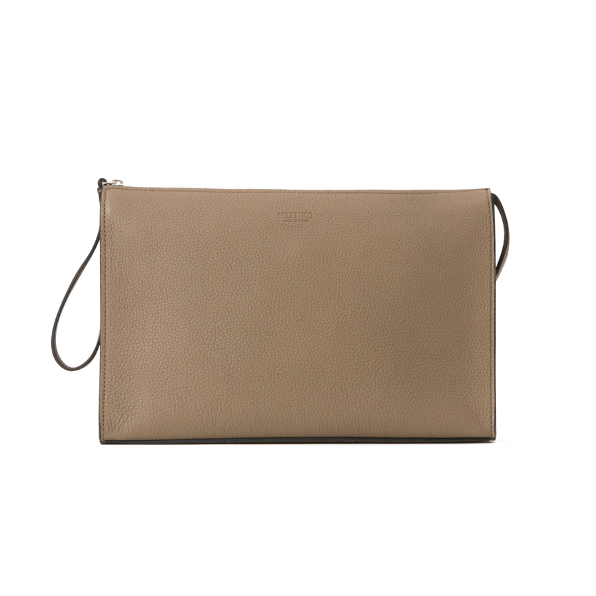 Leather Pochette Beauty Case M