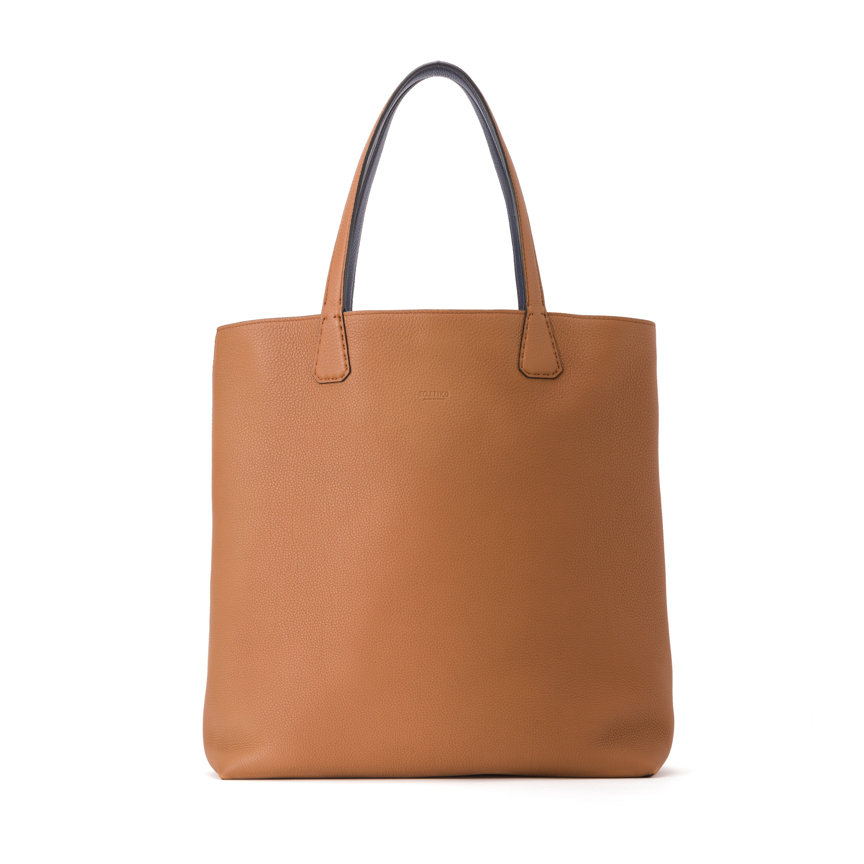 Versatile Verticale Double Face Tote Ver. Leather / Leather