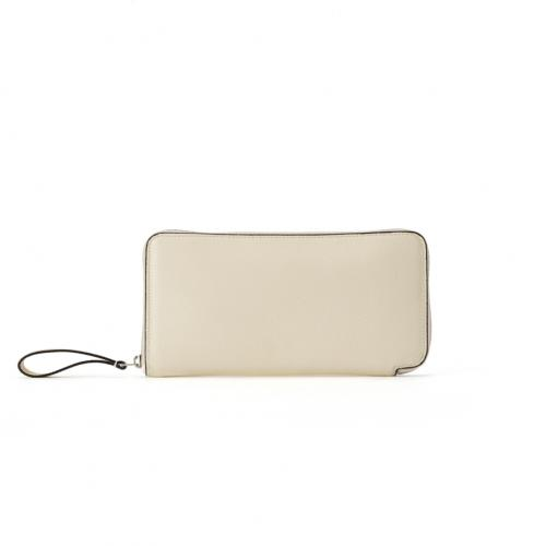 &Ego Round Zip Long Wallet WaproLux;